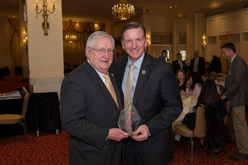 AAPD Congressional Liaison Heber Simmons Jr. with PAC 2015 Legislator of the Year Rep. Paul Gosar