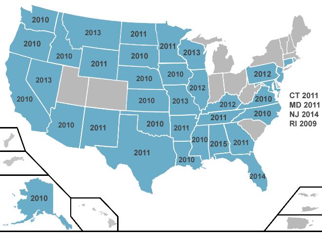 Florida Georgia Map.Non Covered Services Laws By State Non Covered Services Laws By